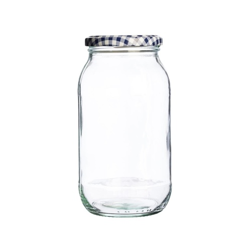 Round Twist Top Jar 725ml