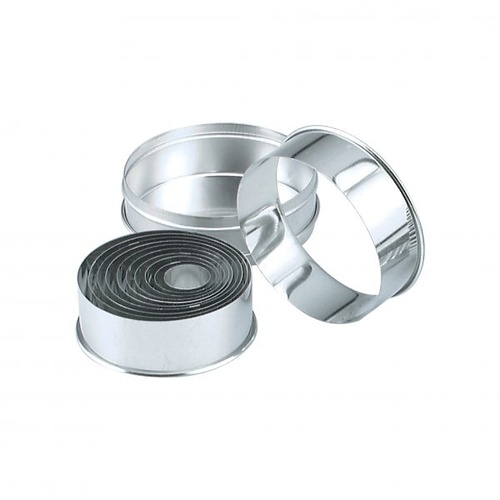 Cutter Set Plain Round 11 pce 25-95mm