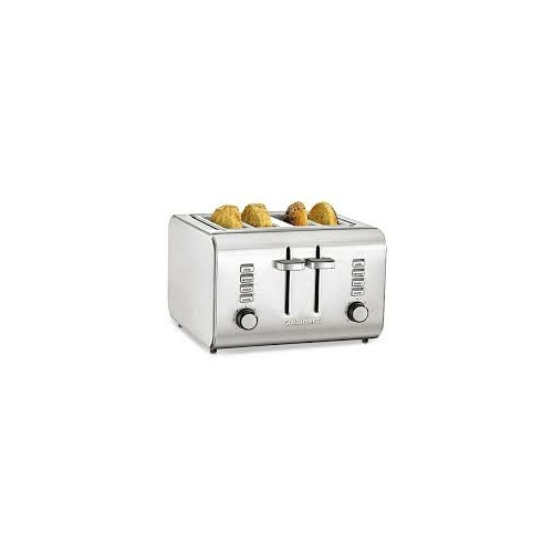 4 Slice S/Steel Toaster